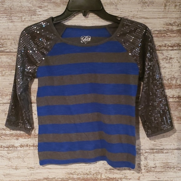 Justice Other - Girls Justice 3/4 top size 10 sequins